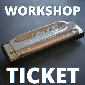 2020 Edinburgh Harmonica Workshop Ticket